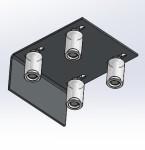 Guia de Portão com 4 Roletes - Miniatura - Severo